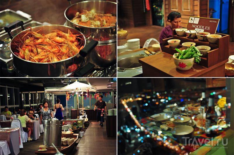 Ресторан на Baiyoke sky в Бангкоке / Фото из Камбоджи