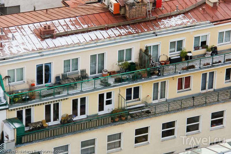 Прогулки по Вене: вид сверху / Фото из Австрии