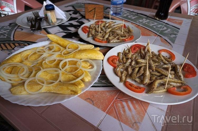 Корюшка да картошка на африканский лад / Руанда