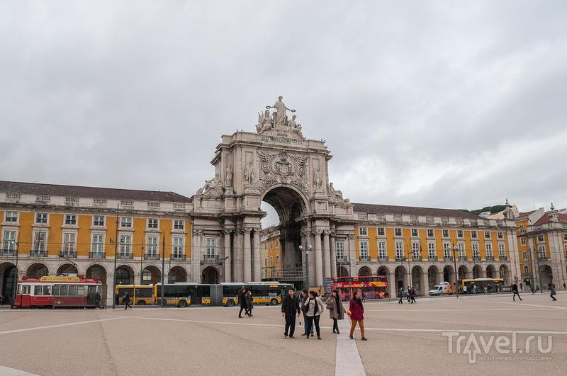 Площадь Коммерции в Лиссабоне / Фото из Португалии
