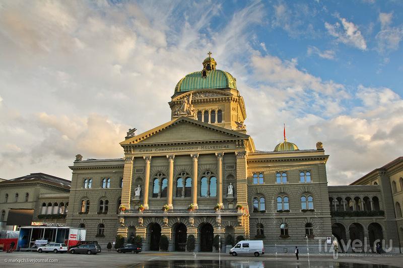 Федеральный дворец в Берне / Фото из Швейцарии