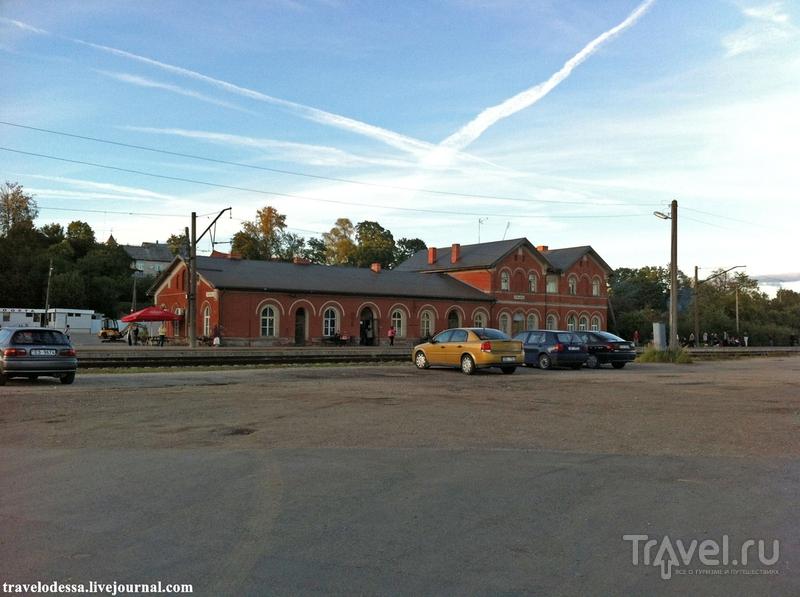 Железнодорожный вокзал в Тукумсе / Фото из Латвии