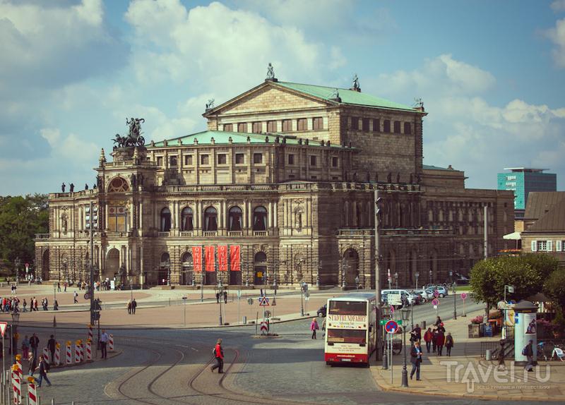 Оперный театр в Дрездене / Фото из Германии