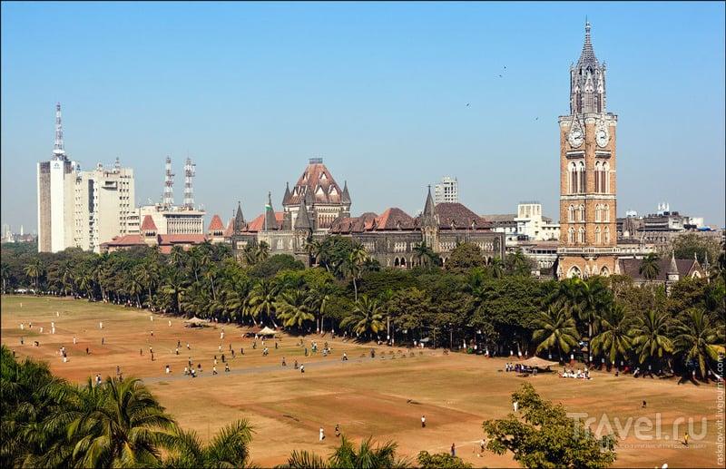 Кампус университета в Мумбаи / Фото из Индии