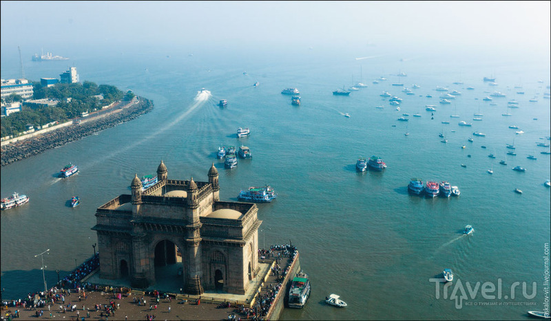 Ворота в Индию, Мумбаи / Фото из Индии
