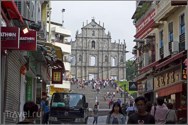 Арка Дасаньба или руины собора Святого Павла / Фото из Макао