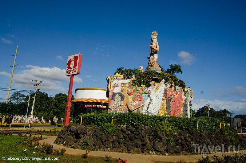 В городе Гранада, Никарагуа / Фото из Никарагуа