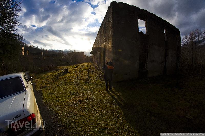Новогоднее путешествие Украина - Абхазия / Фото с Украины