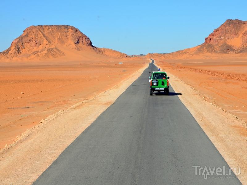 По пути в оазис Эль-Голеа, Алжир / Фото из Алжира