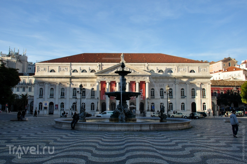 Площадь Rossio в Лиссабоне / Фото из Португалии
