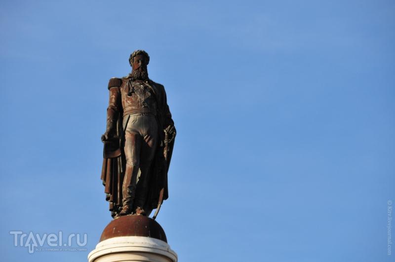 Статуя короля Педру IV в Лиссабоне / Фото из Португалии