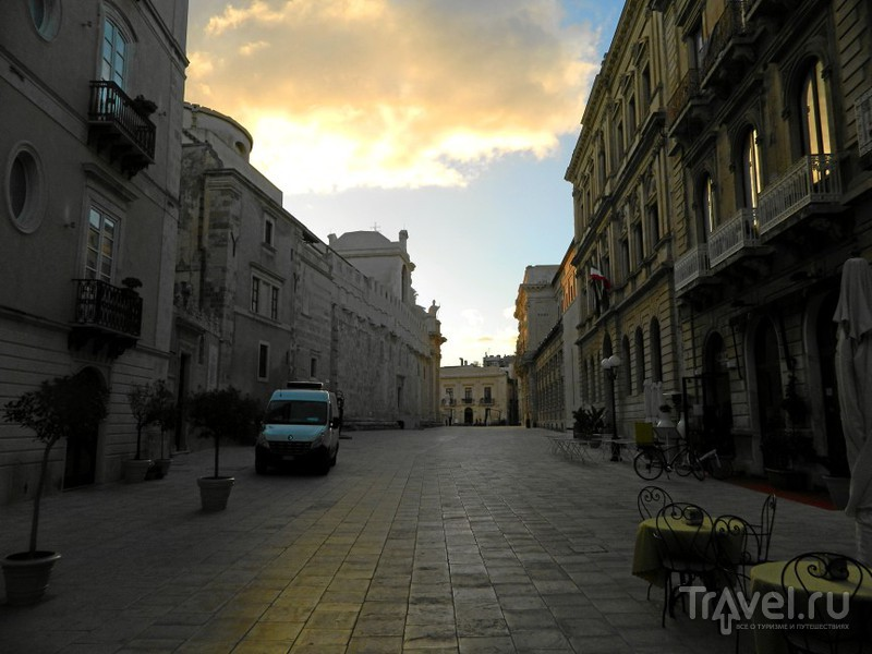 Площадь Minerva, Сиракузы / Фото из Италии