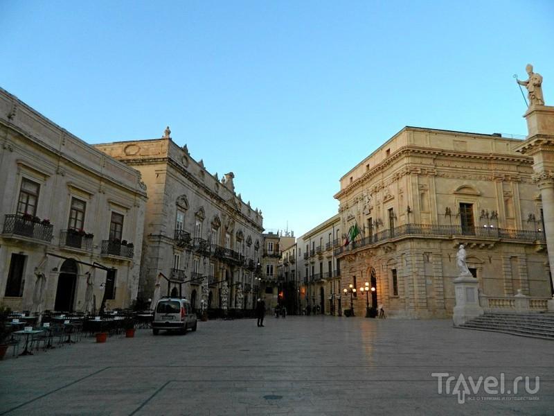 Площадь Duomo, Сиракузы / Фото из Италии