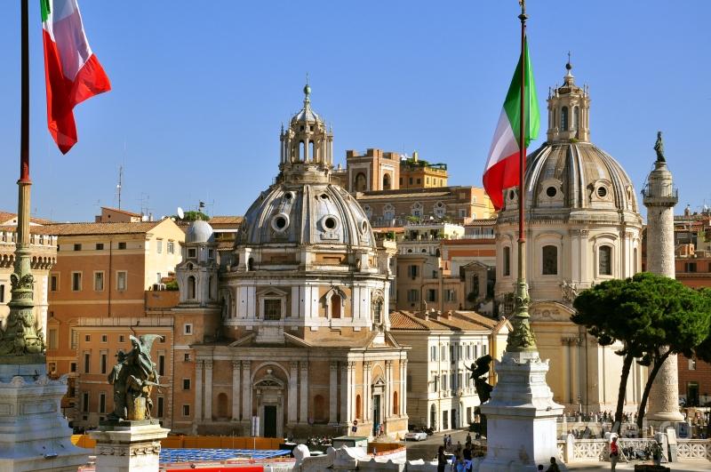 Piazza Venezia в Риме / Фото из Италии