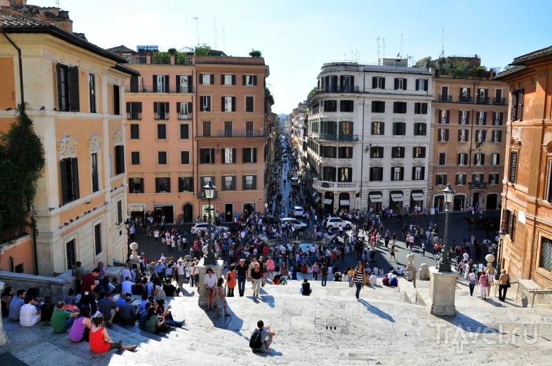 Испанская лестница в Риме / Фото из Италии
