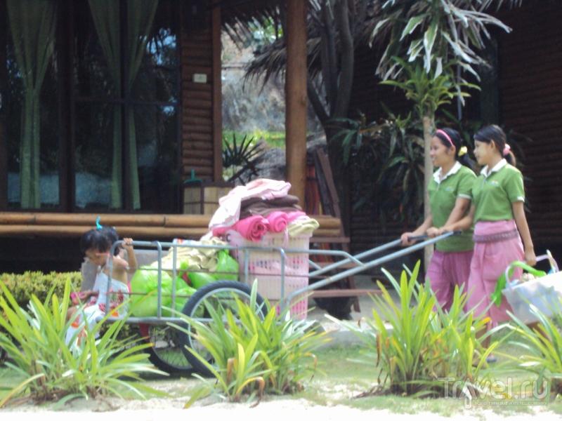 Ко-Панган. Пляж Ao Plai Laem / Таиланд