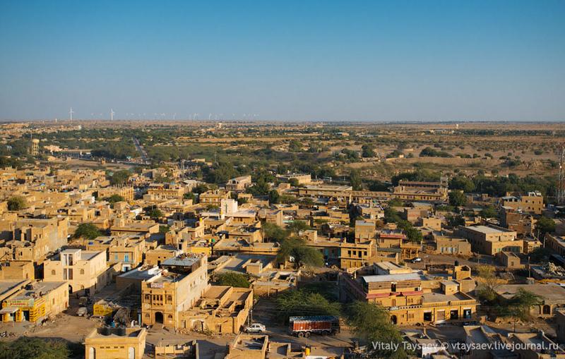 Город  Джайсалмер, Индия / Фото из Индии