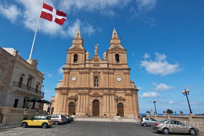 Церковь Богородицы в Меллихе, Мальта / Фото с Мальты