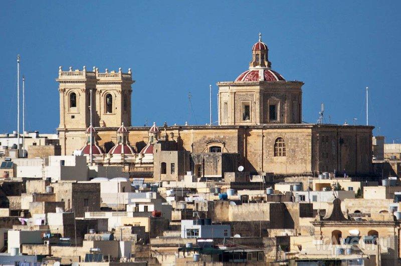 В городе Зеббудж, Мальта / Фото с Мальты