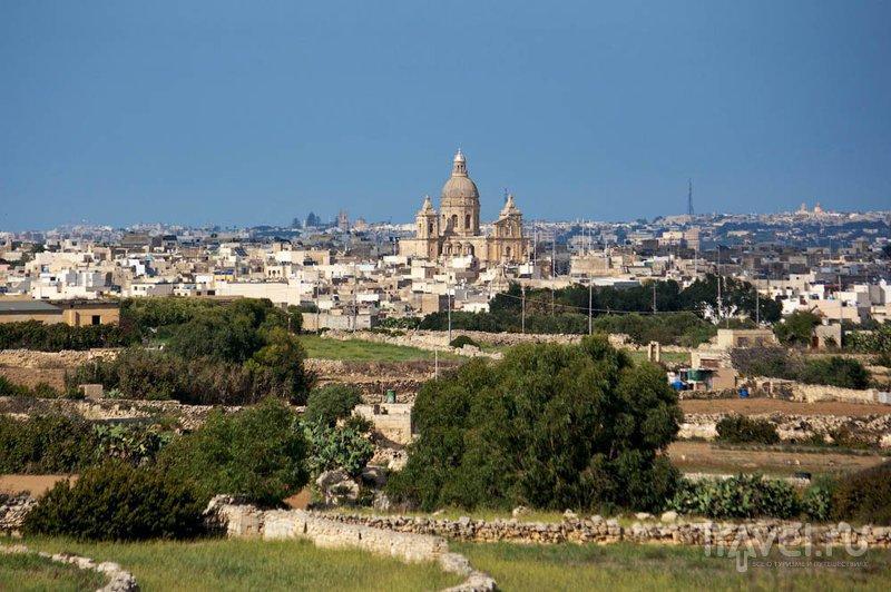 Вид на город Сидджиеви, Мальта / Фото с Мальты