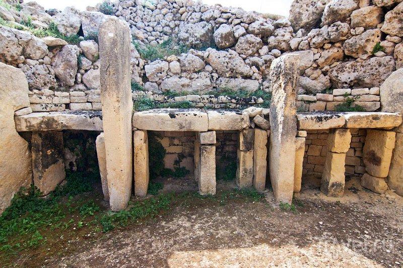 Мальта: мегалитические храмы / Фото с Мальты
