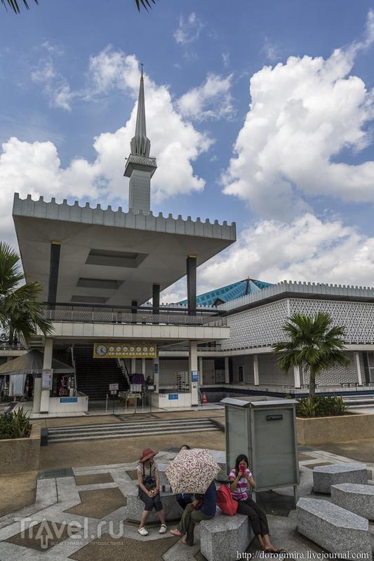 Мечеть Негара в Куала-Лумпуре / Фото из Малайзии