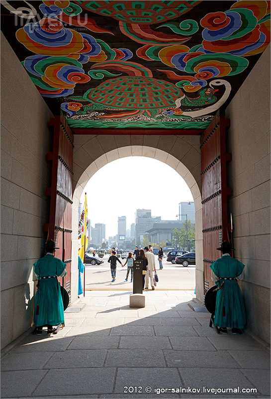 Корейские зарисовки. Сеул / Фото из Южной Кореи