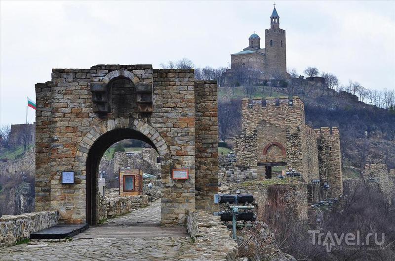 Крепость Царевецград в Велико-Тырново / Фото из Болгарии