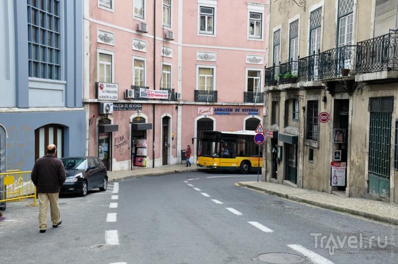 В районе Алфама, Лиссабон / Фото из Португалии