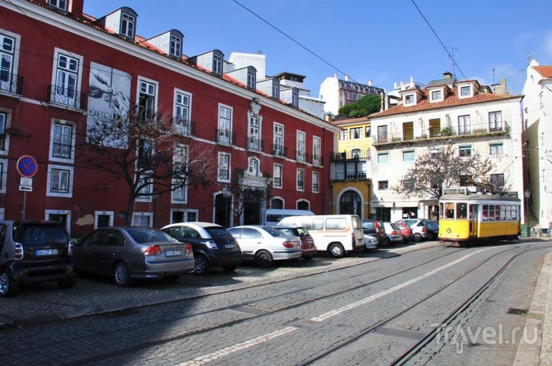 Алфама - арабский квартал Лиссабона / Фото из Португалии