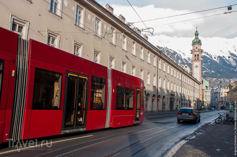 Столица Тироля - Инсбрук / Фото из Австрии