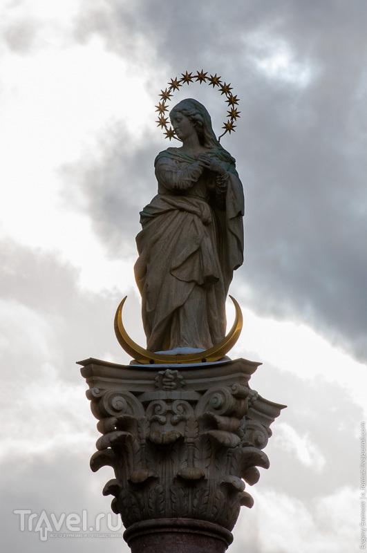 Колонна святой Анны в Инсбруке / Фото из Австрии