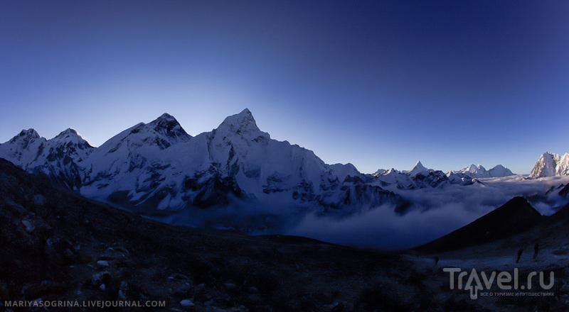 Вершина Ама-Даблам, Непал / Фото из Непала
