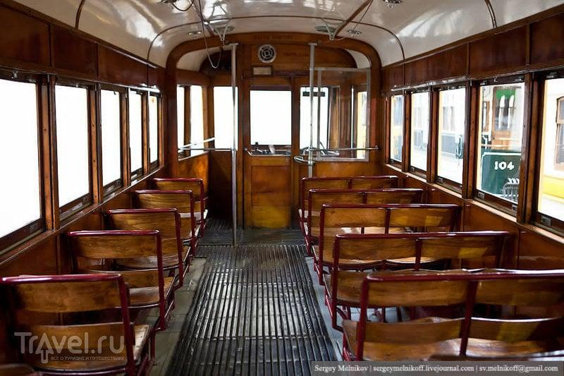 Музей трамваев в Порту / Португалия