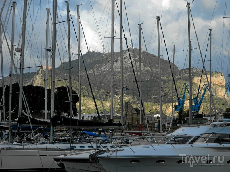 Бухта La Cala.в Палермо, Италия / Фото из Италии