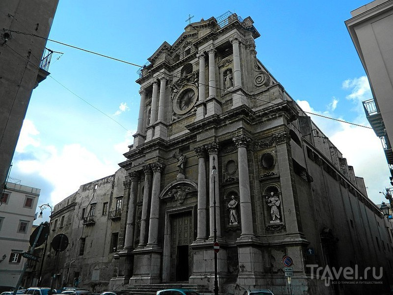 Церковь Santa Maria della Pietà.в Палермо, Италия / Фото из Италии