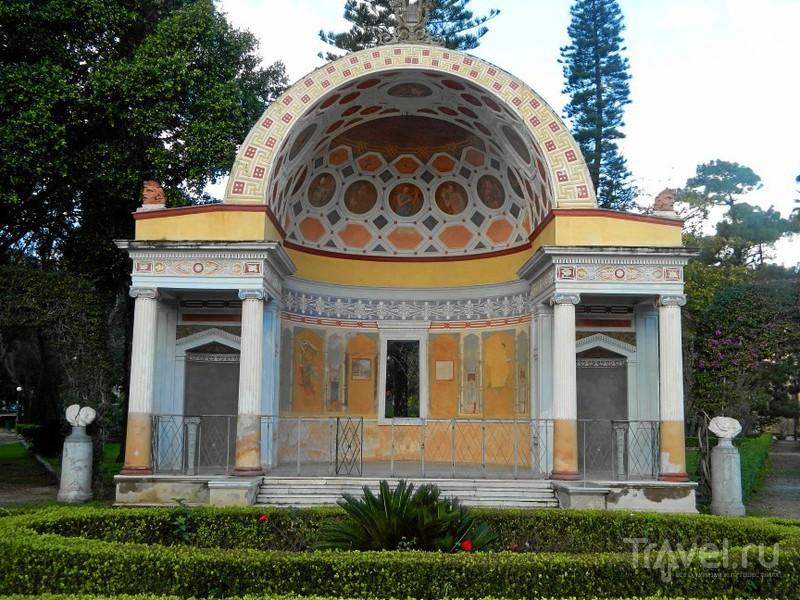 Парк Вилла Джулия (Villa Giulia).в Палермо, Италия / Фото из Италии