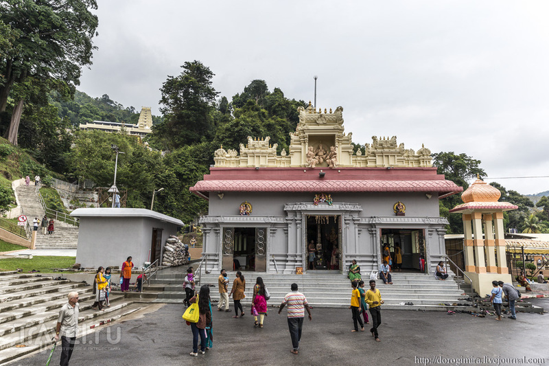 Храм посвященный Лорду Муругану на Пенанге / Фото из Малайзии