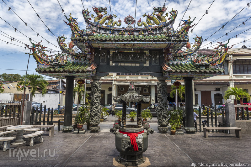 Храм Хайнань в Джорджтауне / Фото из Малайзии