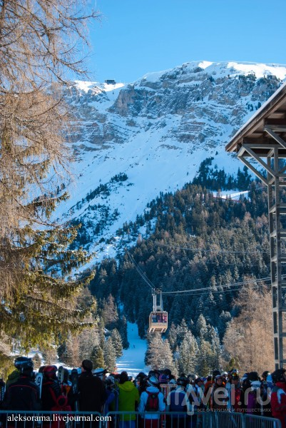 Почему кататься на лыжах нужно в Доломитовых Альпах / Фото из Италии