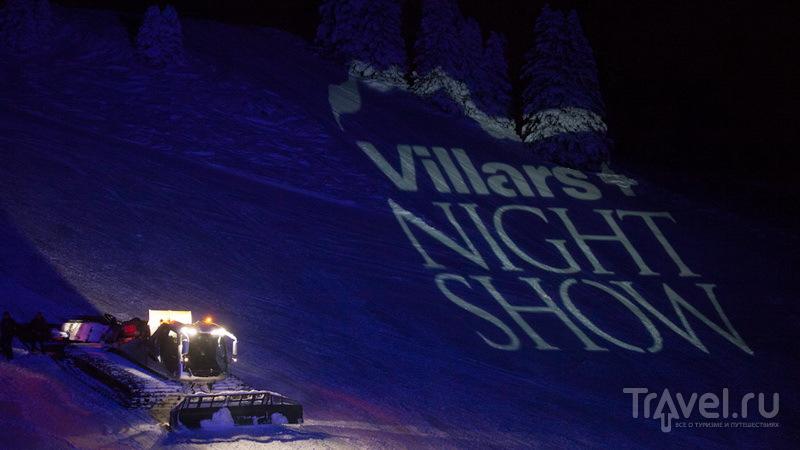 Виллар: Night Show или просто праздник какой-то / Швейцария