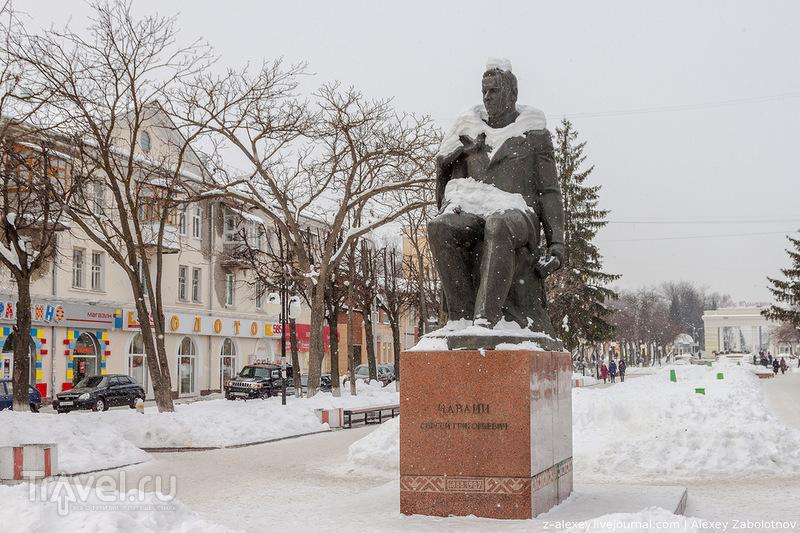 Памятник С. Г. Чавайну в Йошкар-Оле / Фото из России