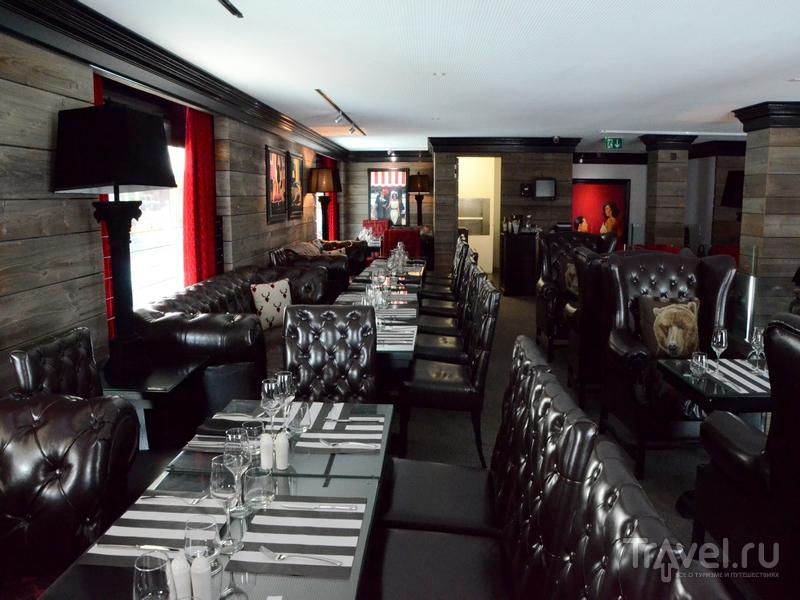 Интерьеры ресторана Le Memphis в Кран-Монтане / Фото из Швейцарии