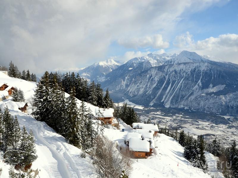 Панорамные пейзажи Кран-Монтаны / Фото из Швейцарии
