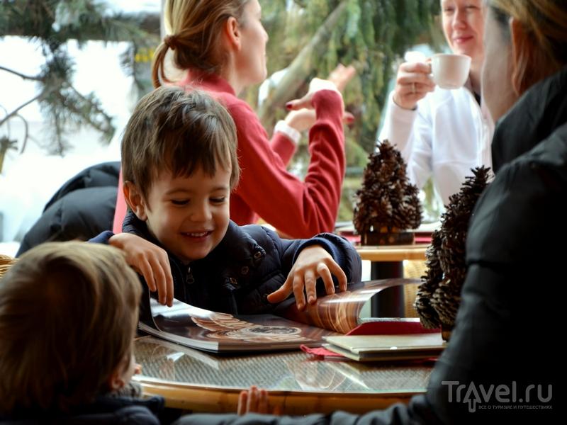 В кондитерских Кран-Монтаны есть специальные меню для малышей / Фото из Швейцарии