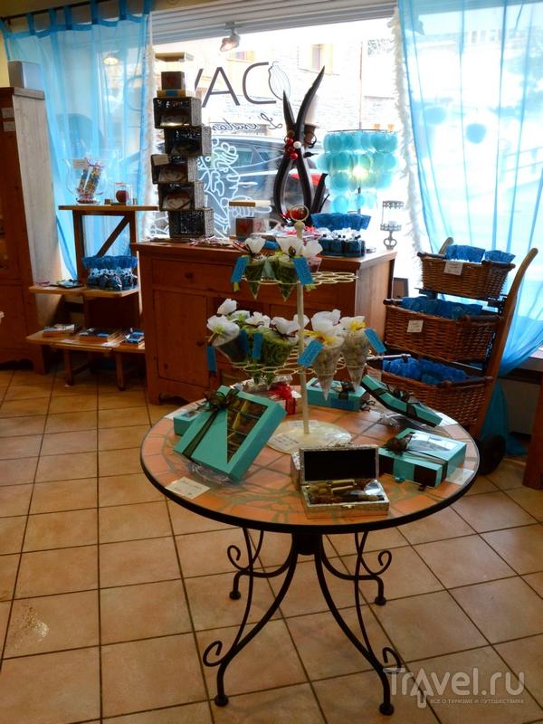 Магазин при шоколадной мастерской DAVID / Фото из Швейцарии