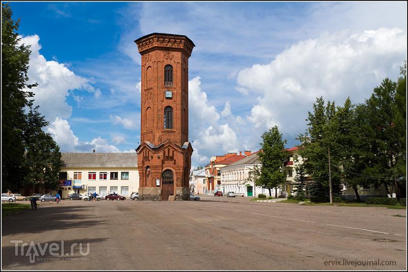 Водонапорная башня в Старой Руссе / Фото из России