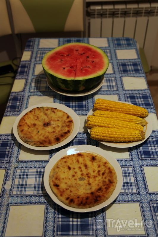Цахараджын, кабускаджын, кукуруза и арбуз / Фото из России