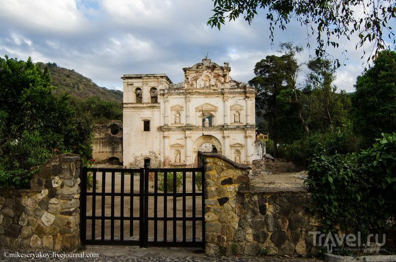 Церковь Эль Кальварио - церковь Голгофы, Гватемала / Фото из Гватемалы