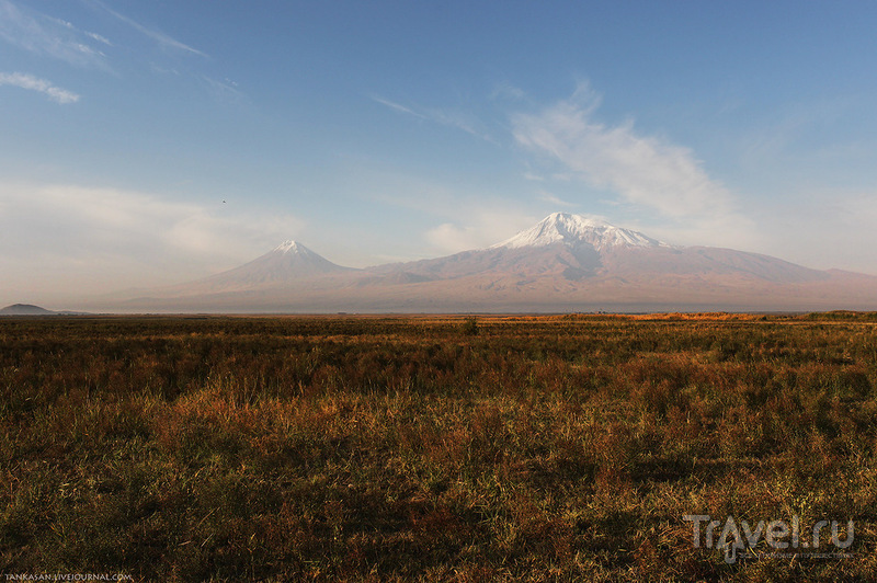 Гора Арарат, Армения / Фото из Армении